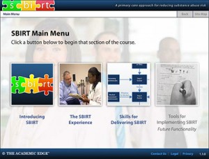 Interactive SBIRT Course